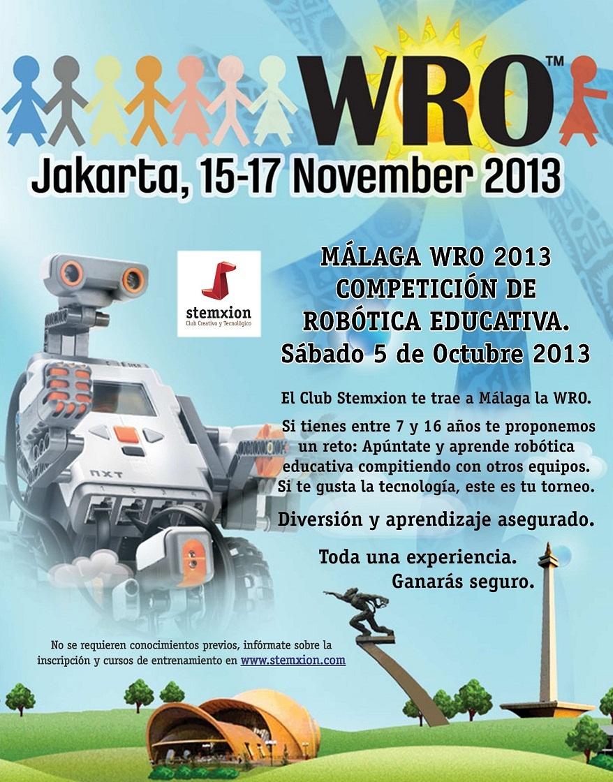 WRO 2013 Stemxion Malaga Cartel A3 WRO