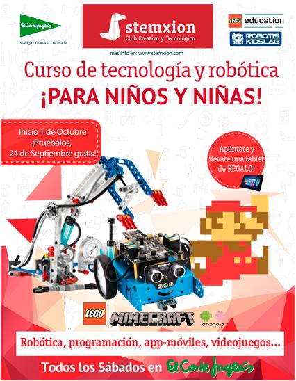 Cursos de tecnología y robótica