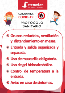 Protocolo Covid Curso 21/22
